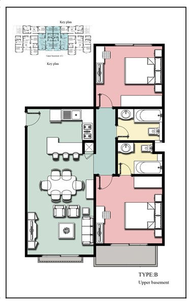 Royal Apartments 3 - 2 bedroom Type B