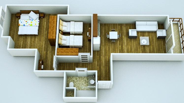 Jasmine Residence  - two bedroom